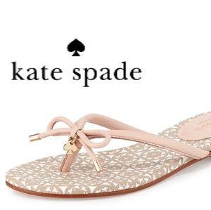 KATE SPADE Bow Sandal NWOT!